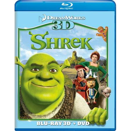 SHREK 3D (BD/DVD COMBO)