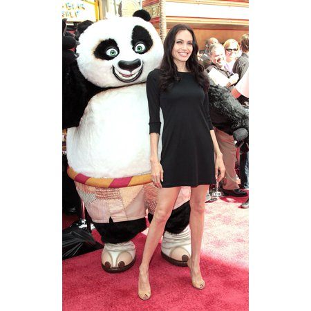 Angelina Jolie At Arrivals For Kung Fu Panda Dvd Release Party GraumanS Chinese Theatre Los Angeles Ca November 09 2008 Photo By Adam OrchonEverett Collection Celebrity ( (Release Date For Halloween)