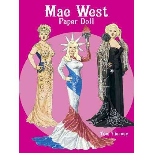 Mae West Paper Doll
