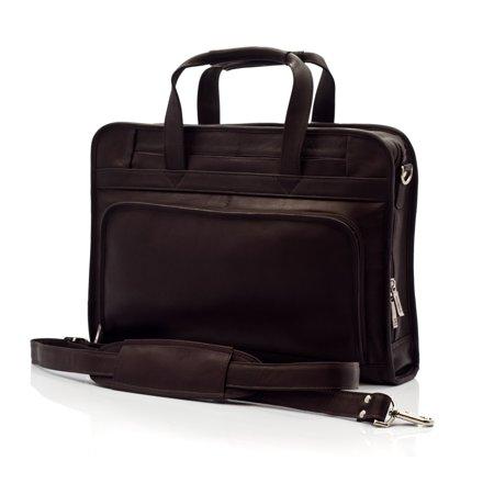 bb603508c3cd Muiska Leather Lisbon Top Zipper Professional 17