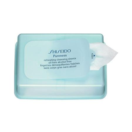 Shiseido Pureness Refreshing Facial Cleansing Sheet, 30 (Shiseido Pureness Foaming Cleansing Fluid)