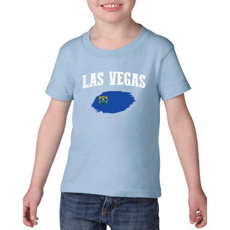 Las Vegas Nevada Heavy Cotton Toddler Kids T-Shirt Tee
