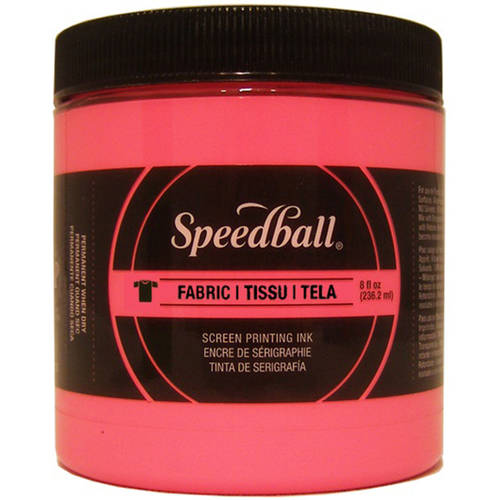 Speedball Fabric Screen Printing Ink Fluorescent, 8 oz