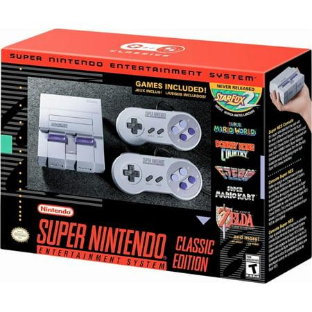 Super Nintendo Entertainment System SNES Classic Edition