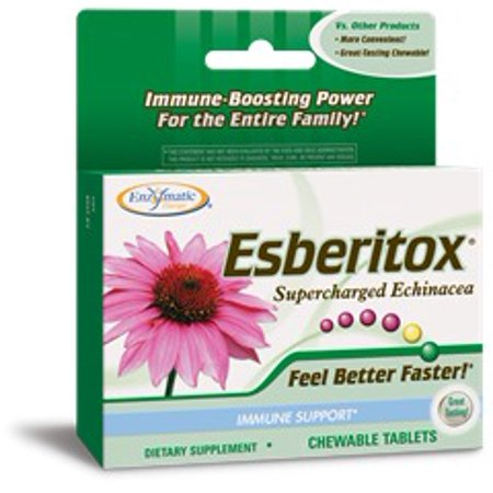 Esberitox Family Pack (as seen on The View) Enzymatic Therapy Inc. 200 Chewable