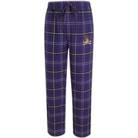 ECU Pirates Concepts Sport Ultimate Flannel Pajama Pants - Purple