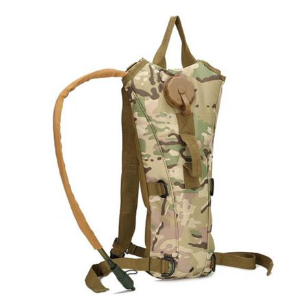 6381f06e79 Ourdoor Sport Hydration Pack with 3L Water Bladder Water Bag Pouch for  Fishing Hiking Camping Color ...