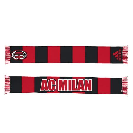 Ac Milan Soccer Shirts - AC Milan Soccer Futbol Adidas Authentic S386 Jacquard Team Scarf