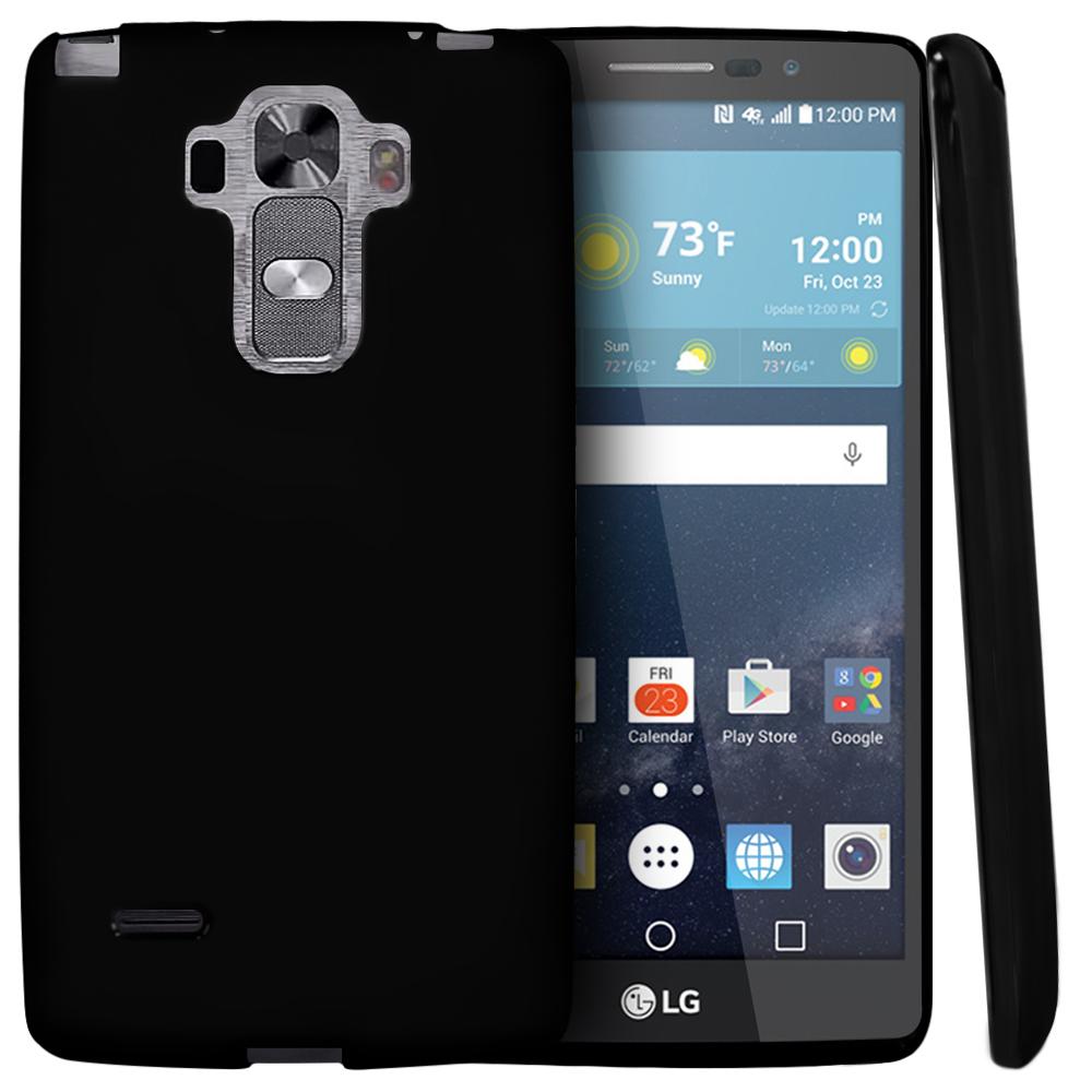 check out 3b35f 299e8 LG G Vista 2 Case [Black] Slim & Flexible Anti-shock Crystal Silicone TPU  Skin Protective Cover