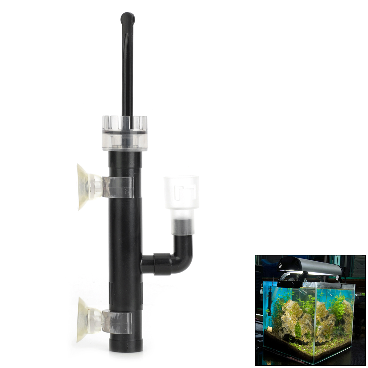 Surface Water Oil Skimmer / Cleaner for Pet Fish Tank / Aquarium