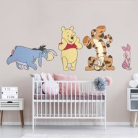 Fathead Winnie the Pooh: Collection - X-Large Officially Licensed Disney Removable Wall Decals