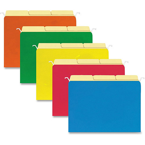 Sparco Tabview Hanging File Folders