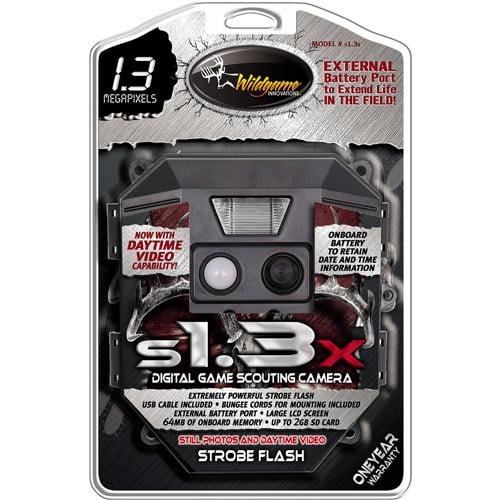 WGI s1.3X 1.3MP Scouting Trail Game Cam
