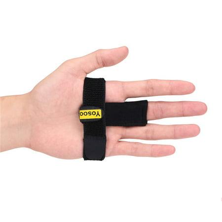 Adjustable Elastic Finger Brace for Finger Stiffness, Trigger Finger Splint with Aluminum Bar for Clicking & Popping, Pain Relief from Stenosing Tenosynovitis Best Aluminum Cross Brace