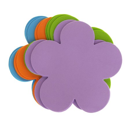 Daisy Flower Foam Shapes, Assorted Color, 5-1/2-Inch, 12-Piece