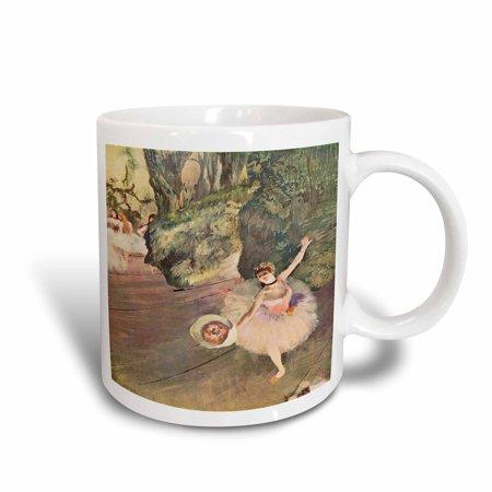 Degas Ballerina Paintings - 3dRose Edgar Degas Painting Take A Bow Of Ballerinas, Ceramic Mug, 15-ounce