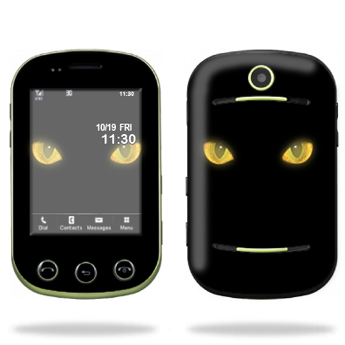 Mightyskins Protective Skin Decal Cover for Pantech Pursuit II 2 Cell Phone wrap sticker skins Cat Eyes