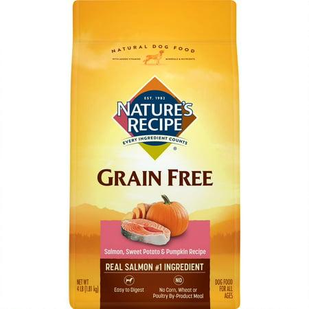 Nature's Recipe Grain Free Easy to Digest Salmon, Sweet Potato & Pumpkin Recipe, - Easy Pink Punch Recipe