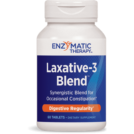 Enzymatic therapy laxative-3 blend tablets, 60 ct ()