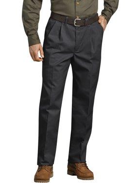 7c79ff570f Product Image Men's Pleated Comfort-Waist Work Pants
