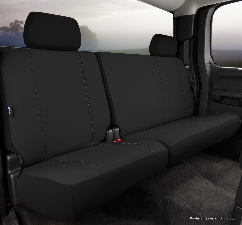 Elegant E F17213 Custom Made Bucket Seat Covers Gray Premier Tweed Fabric