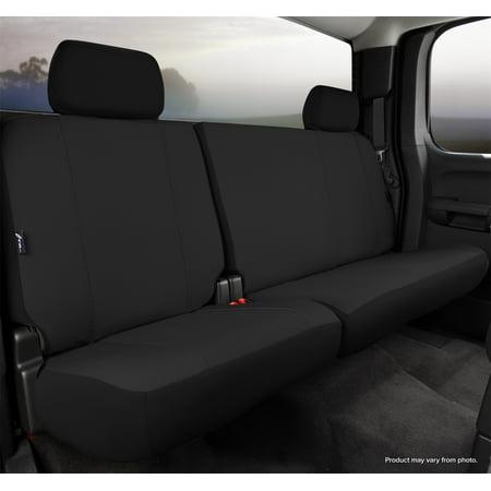Fia Inc. SP82-36 BLACK FIASP82-36 BLACK 13-14 F150 SEAT PROTECTOR CUSTOM SEAT COVER, REAR SPLIT CUSHION 60 DRIVER/40 PASSENGER