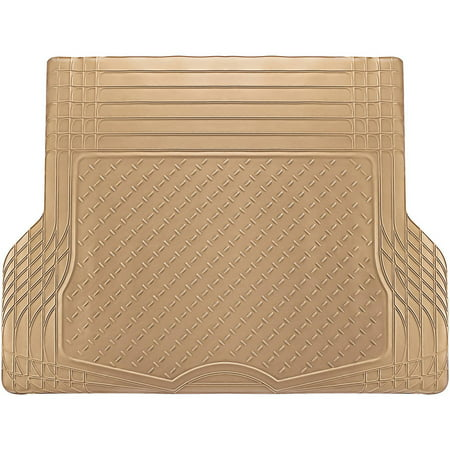 OxGord WeatherShield HD Heavy Duty Rubber Trunk Cargo Liner Floor Mat, Trim-to-Fit for Car, SUV, Van & Trucks, (Cargo Trunk Liner)
