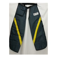 Universal Outdoor Factory Parts Protective Chainsaw Apron Chaps Grey Yellow