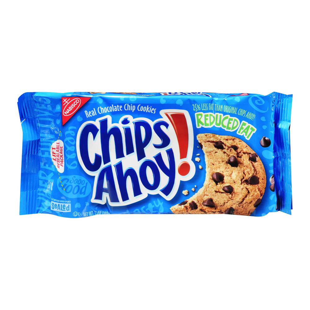Nabisco Chips Ahoy! Reduced Fat Chocolate Chip Cookies, 13.0 OZ