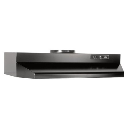 Broan 36W in. Round Vented Under Cabinet Range - Stove Hood