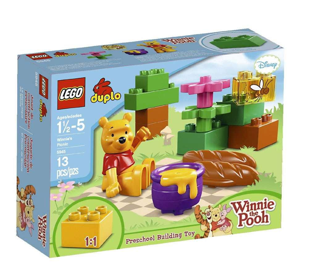 Winnie the Pooh Winnie's Picnic Set Lego 5945 by LEGO Systems, Inc.