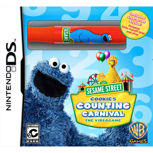 Sesame Street: Cookie Counting Carnival (DS) - Pre-Owned