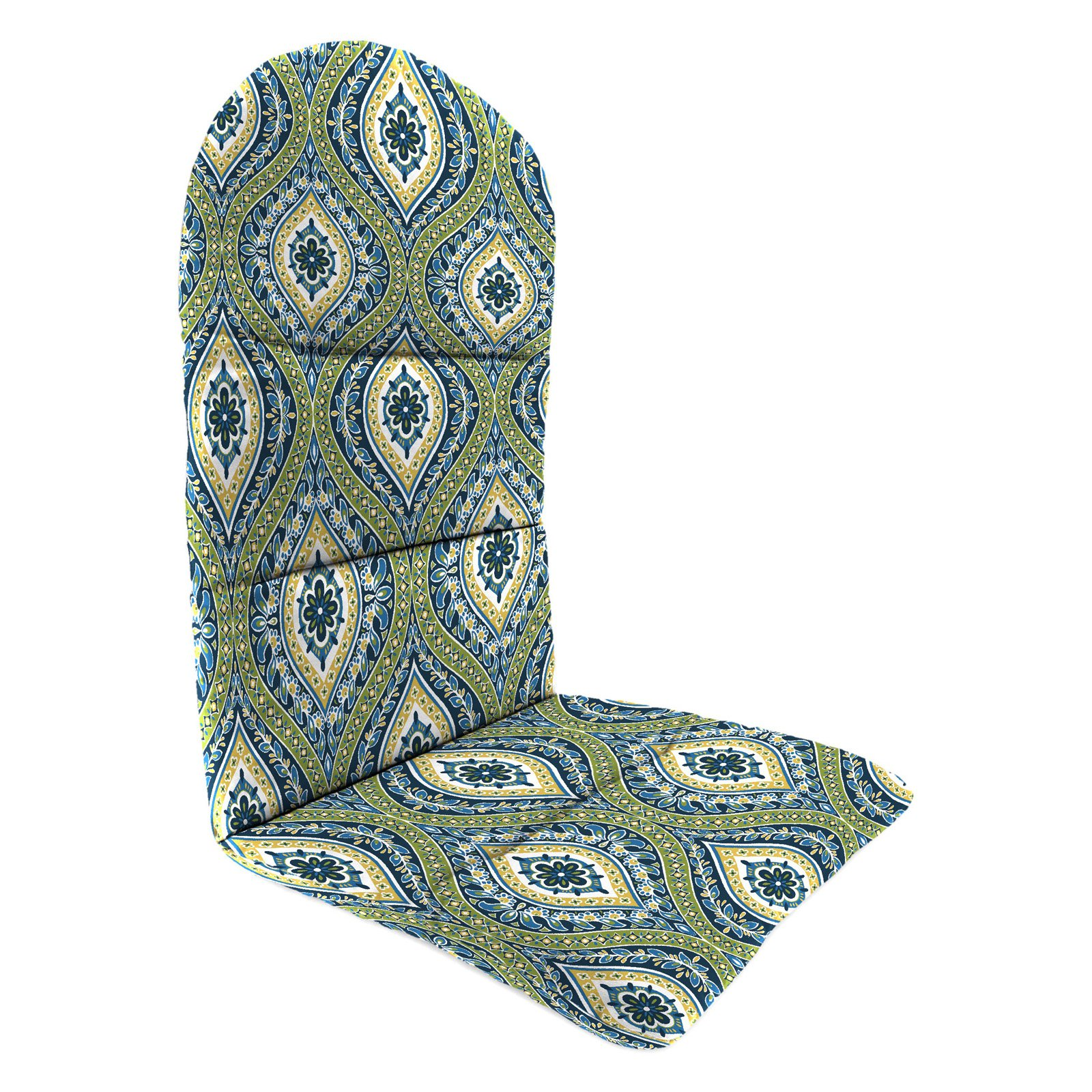 Jordan Manufacturing 49 in. Knife Edge Outdoor Adirondack Chair Cushion - Jasmina Summer