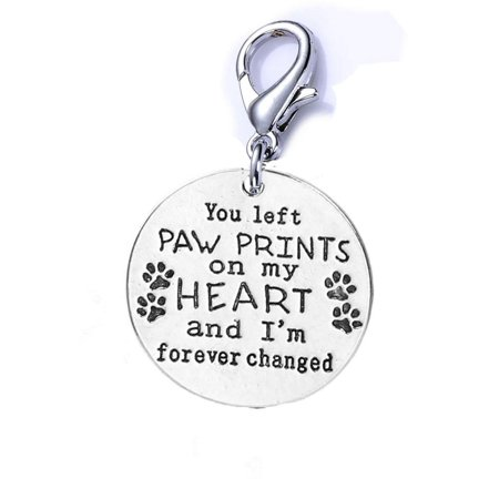 SEXY SPARKLES Loss of Pet Memorial Charm Dog Cat