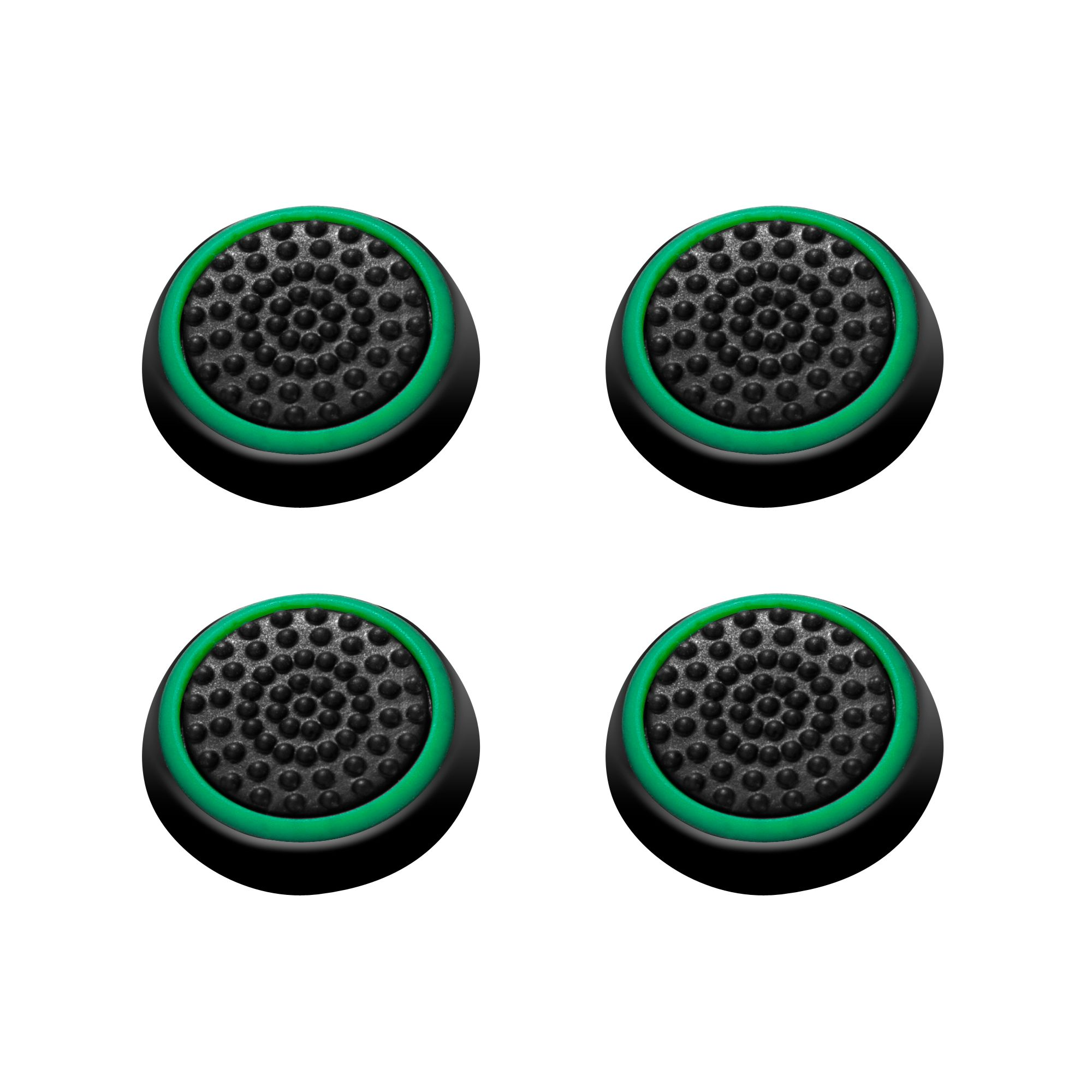 4pcs Thumbstick Grips Caps Analog by Insten for Xbox 360 Xbox One Sony PlayStation 2 3 4 Controller