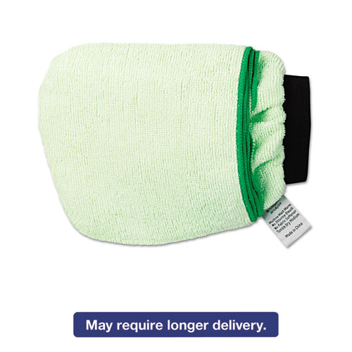 Grip-N-Flip 10 Sided Microfiber Mitt, 7 x 6, Green BWKMICROMITTGRE