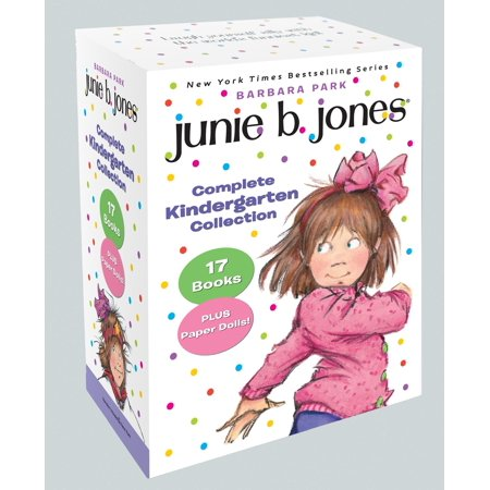 Kindergarten Halloween Paper Crafts (Junie B. Jones Complete Kindergarten Collection : Books 1-17 with paper dolls in boxed)