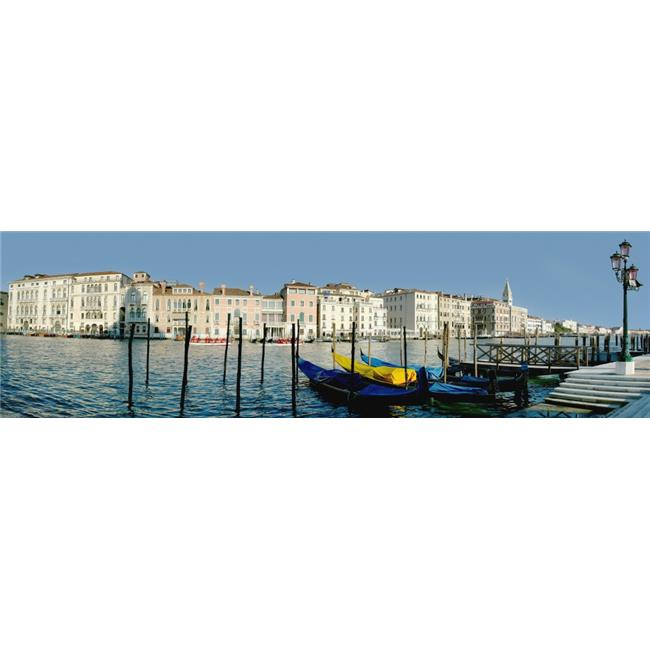 Posterazzi DPI1888713 Panoramic of Colourful Venetian Waterfront Poster Print, 26 x 7 - image 1 de 1