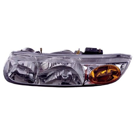 Go-Parts » 2000 - 2002 Saturn SL2 Front Headlight Headlamp Assembly Front Housing / Lens / Cover - Left (Driver) Side - (Sedan) 21112455 GM2502206 Replacement For Saturn SL2