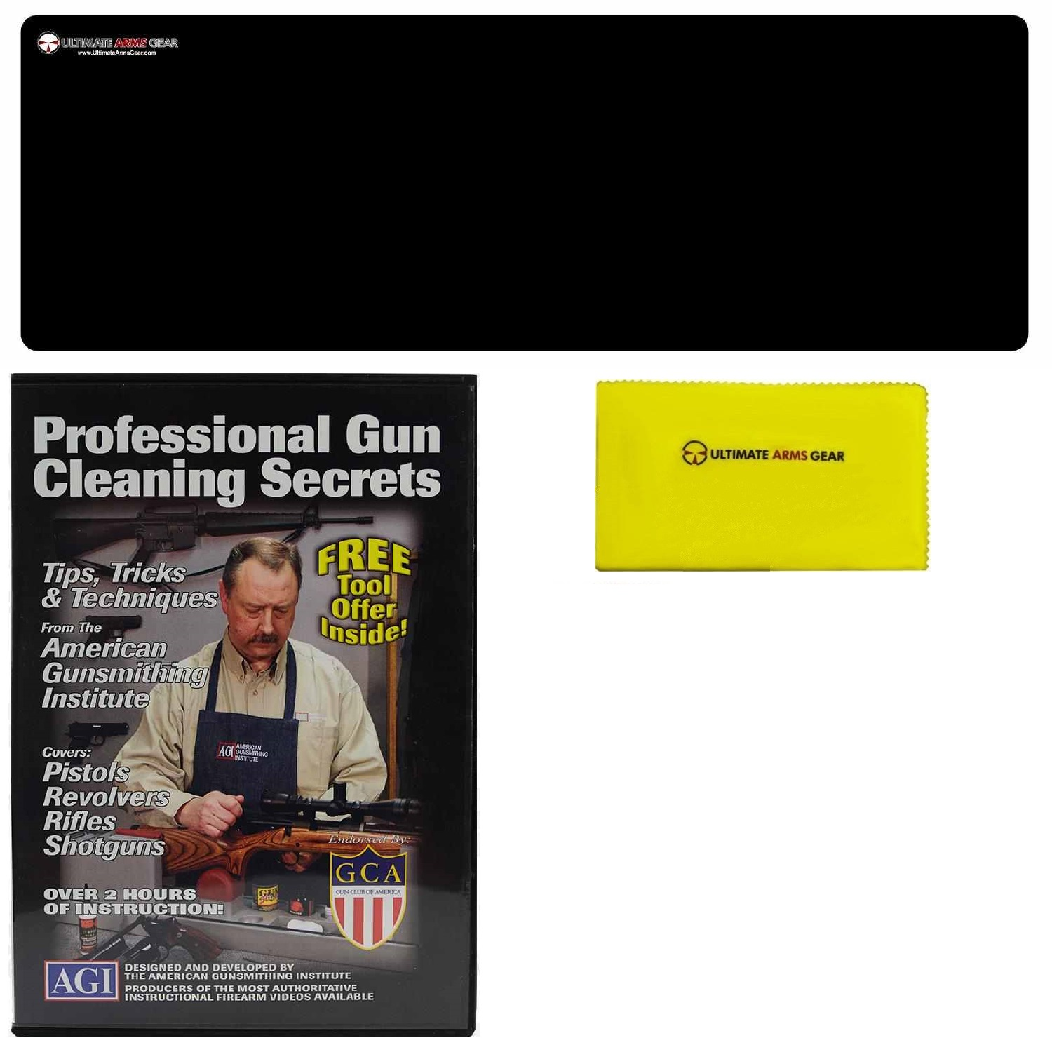 AGI DVD Professional Gun Cleaning Course Secrets Ruger Mark MK 1 I, 2 II, 3 III, 4 IIII SR Series SR9 SR40 Pistol+... by