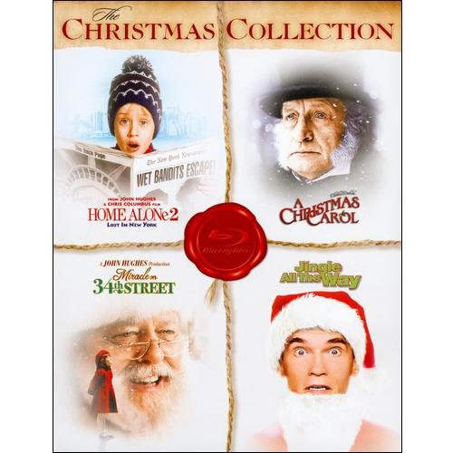 The Christmas Collection: A Christmas Carol / Home Alone 2 / Jingle All The Way / Miracle On 34th Street (1994) (Blu-ray)