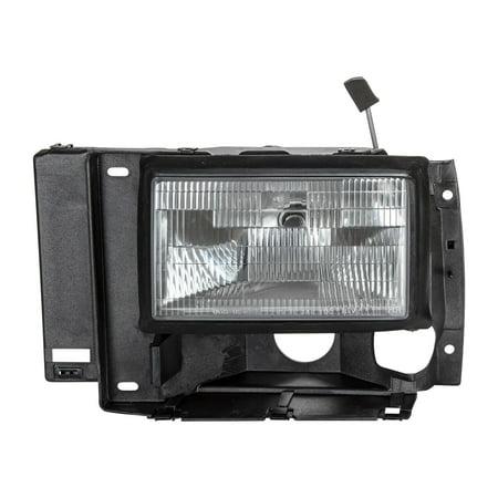 Ford Bronco Headlamp Headlight - TYC 20-1671-00 Headlight Assembly for Ford Bronco, Explorer, Ranger FO2502107