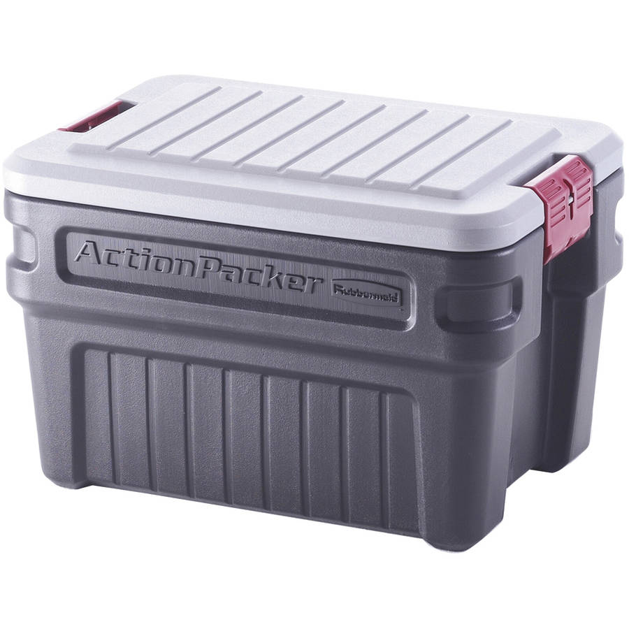 Rubbermaid FG11720238 24 Gallon ActionPackerᅡᆴ Storage Container