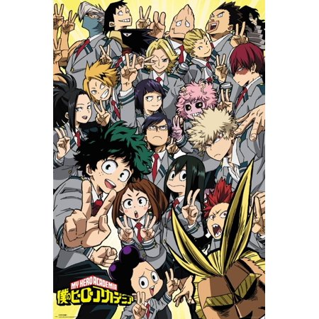 My Hero Academia - School Compilation Poster - 24x36