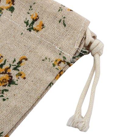 Articles Fleur Mariage Stockage Pochette Cadeau Candy String Sac Cordon - image 4 de 5
