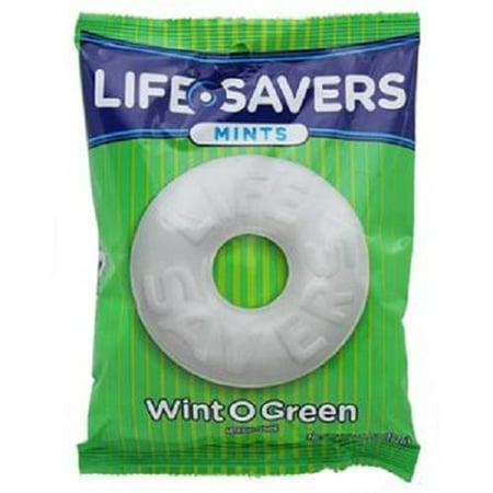 Lifesavers Wintogreen Peg 6.25 Oz (12 Pieces)