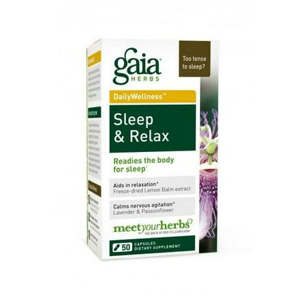 Sleep & Relax Gaia Herbs 50 VCaps