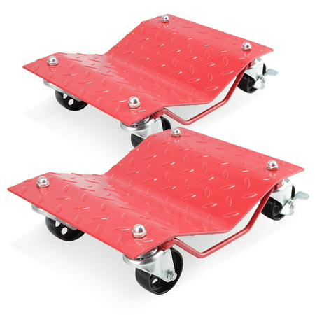 Car dollies 2 or 4 best option