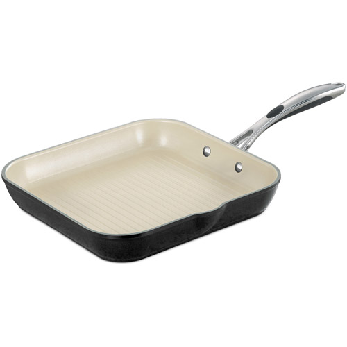 """Tramontina Gourmet Ceramica_01 Deluxe 11"""" Square Grill Pan by Tramontina USA Inc."""