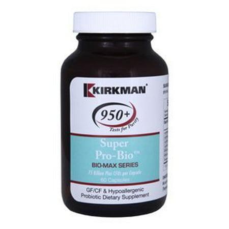 Kirkman Labs  Super Pro Bio  Bio Max Series  60 Caps